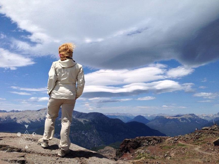An* en la cima del Cerro Tronador