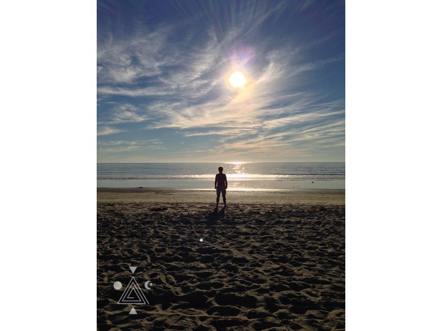 An* en comunión con el Padre Sol en Los Ángeles