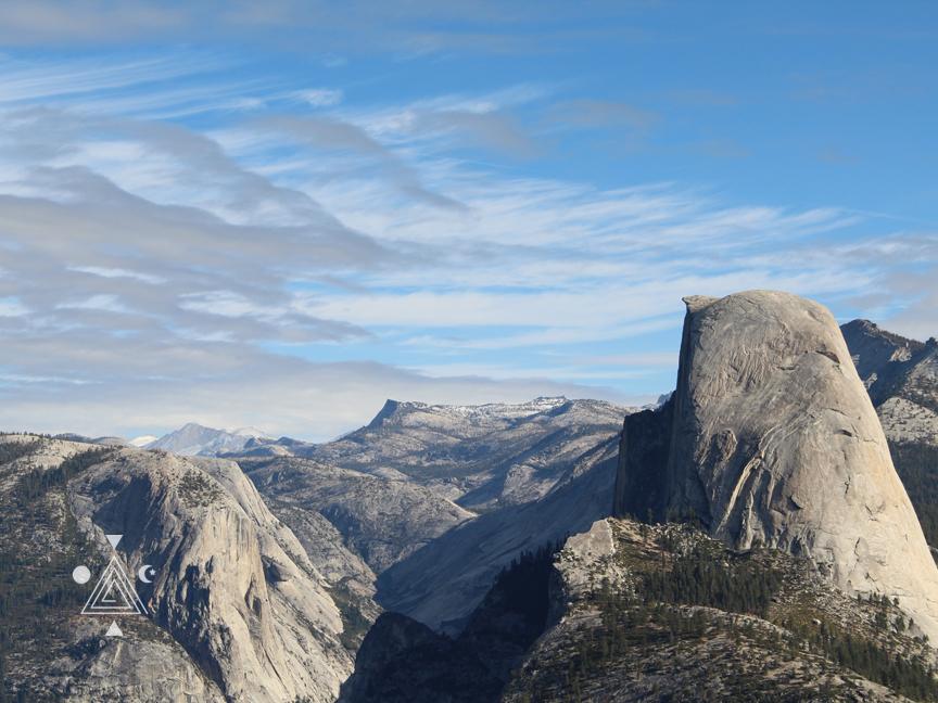 Medio Domo en Yosemite Park