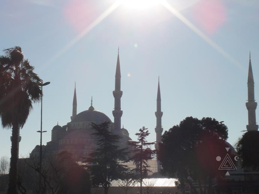 Santa Sofia de Constantinopla. Antigua Constantinopla. Hoy Estambul.